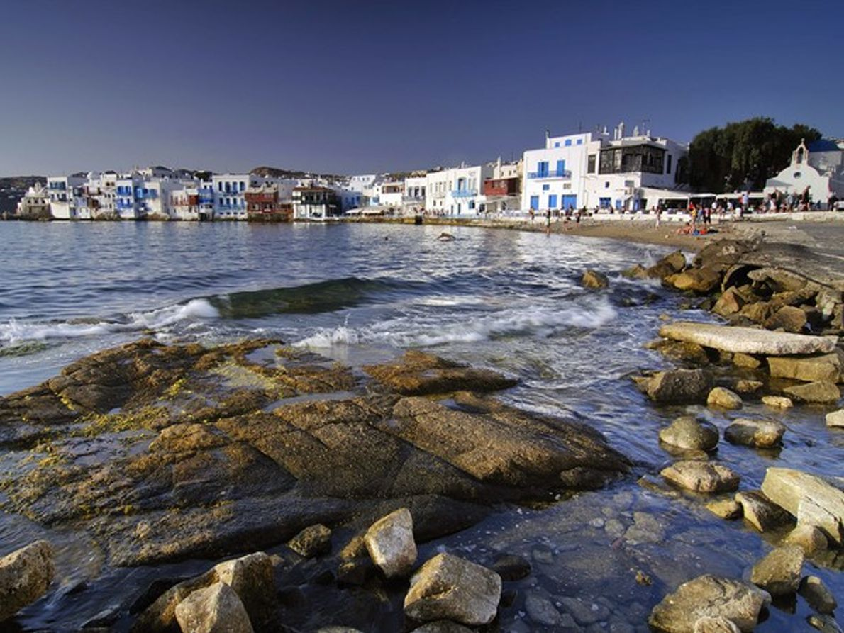 Isla de Miconos, Grecia