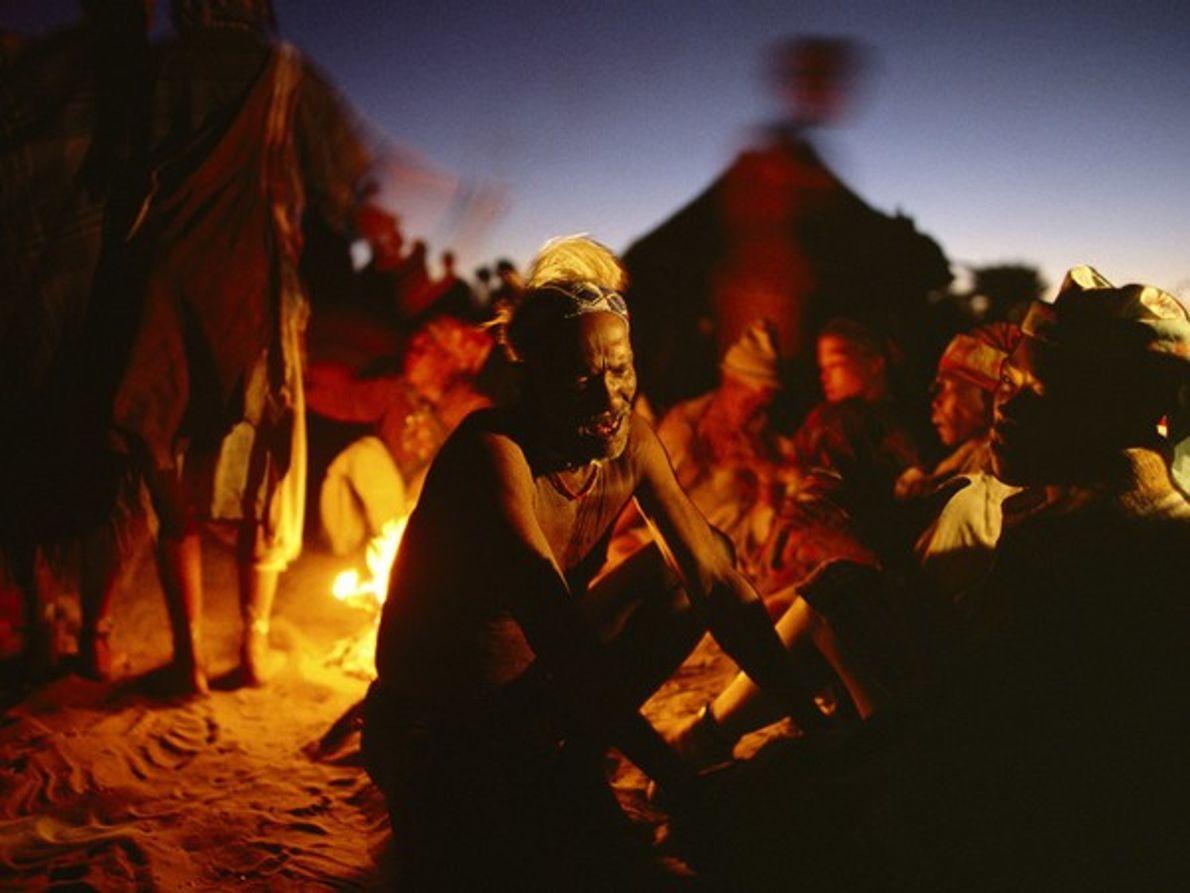 Ceremonia de sanación bosquimana