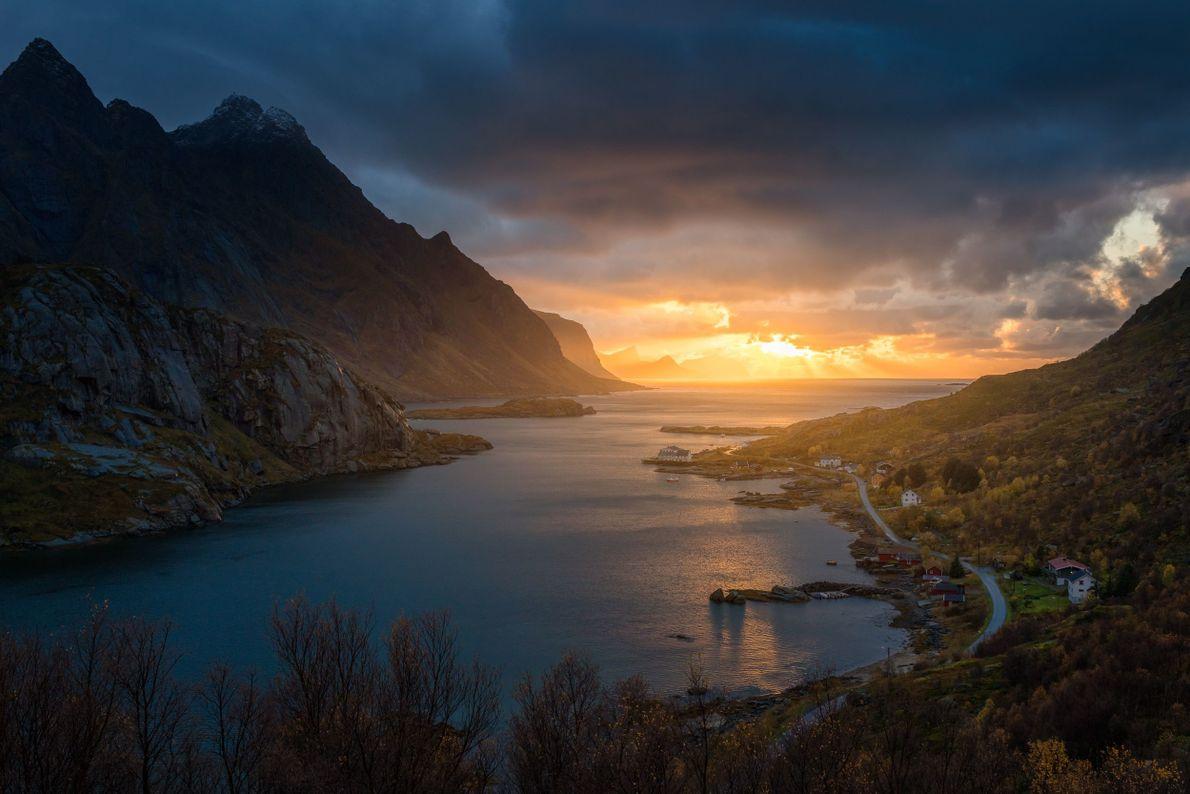 Mærvoll y Steinsfjorden