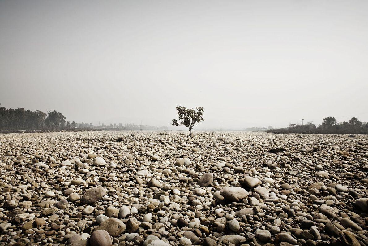 Uno de los afluentes del Ganges