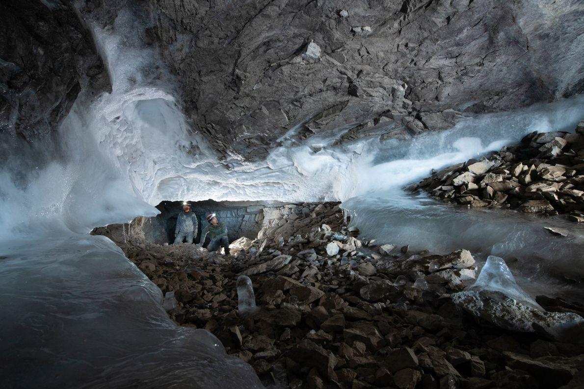 Cueva Kate's Cove, Groenlandia