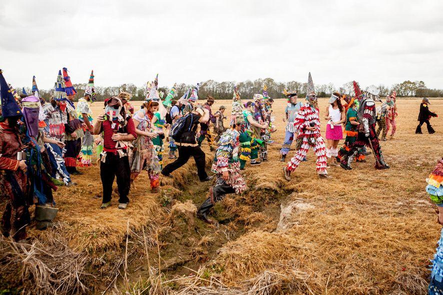 Celebra el Mardi Gras al estilo cajún en Luisiana