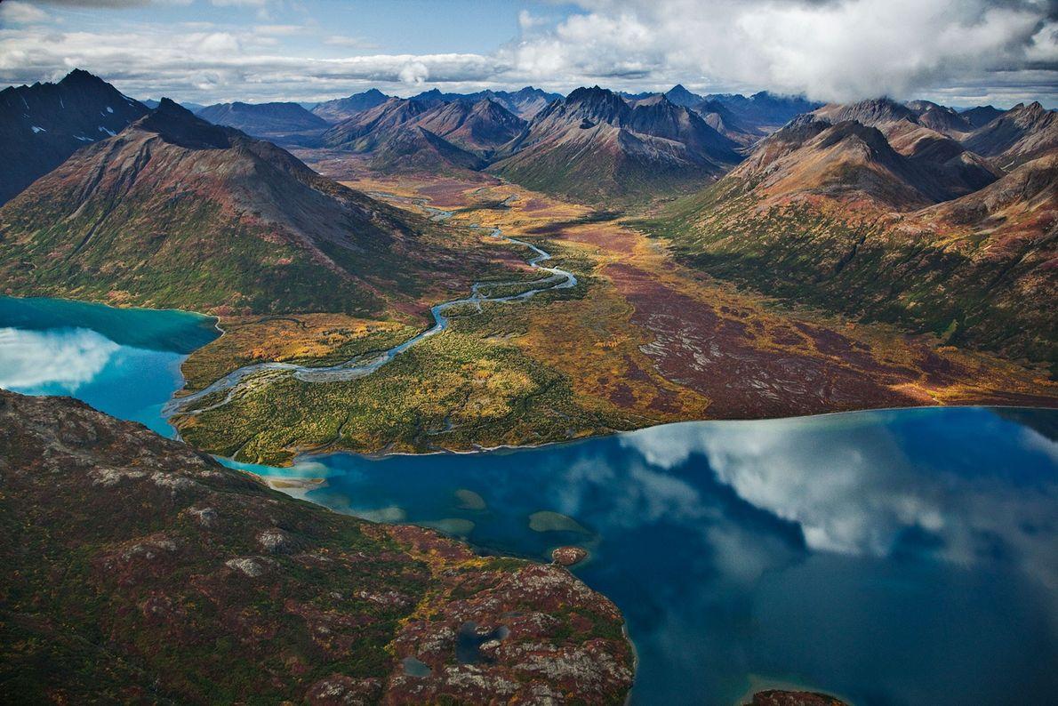 El lago Chikuminuk