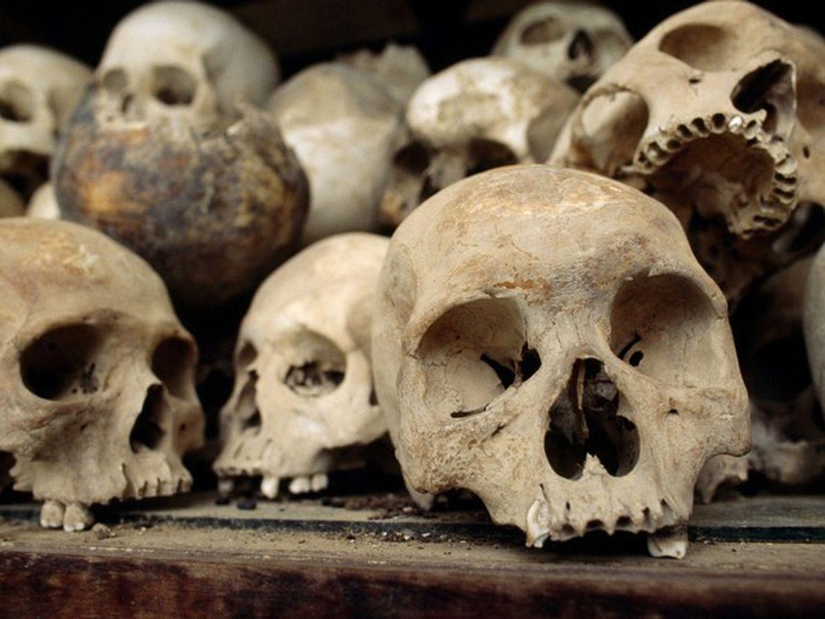 Calaveras de los Campos de la Muerte