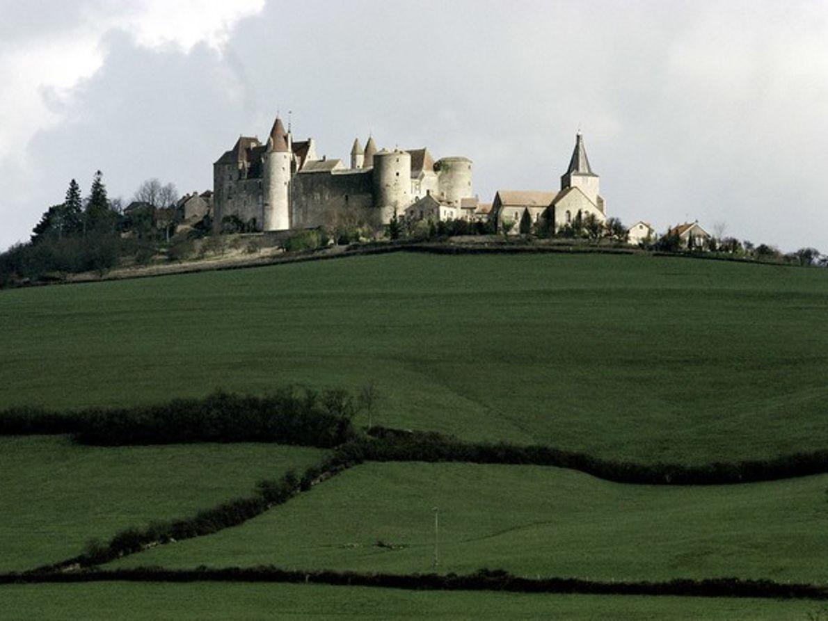 Castillo de Borgoña, Francia