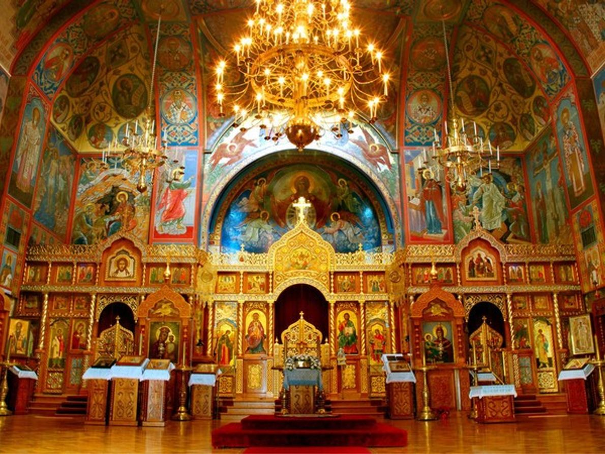 Catedral de la Sagrada Virgen, San Francisco