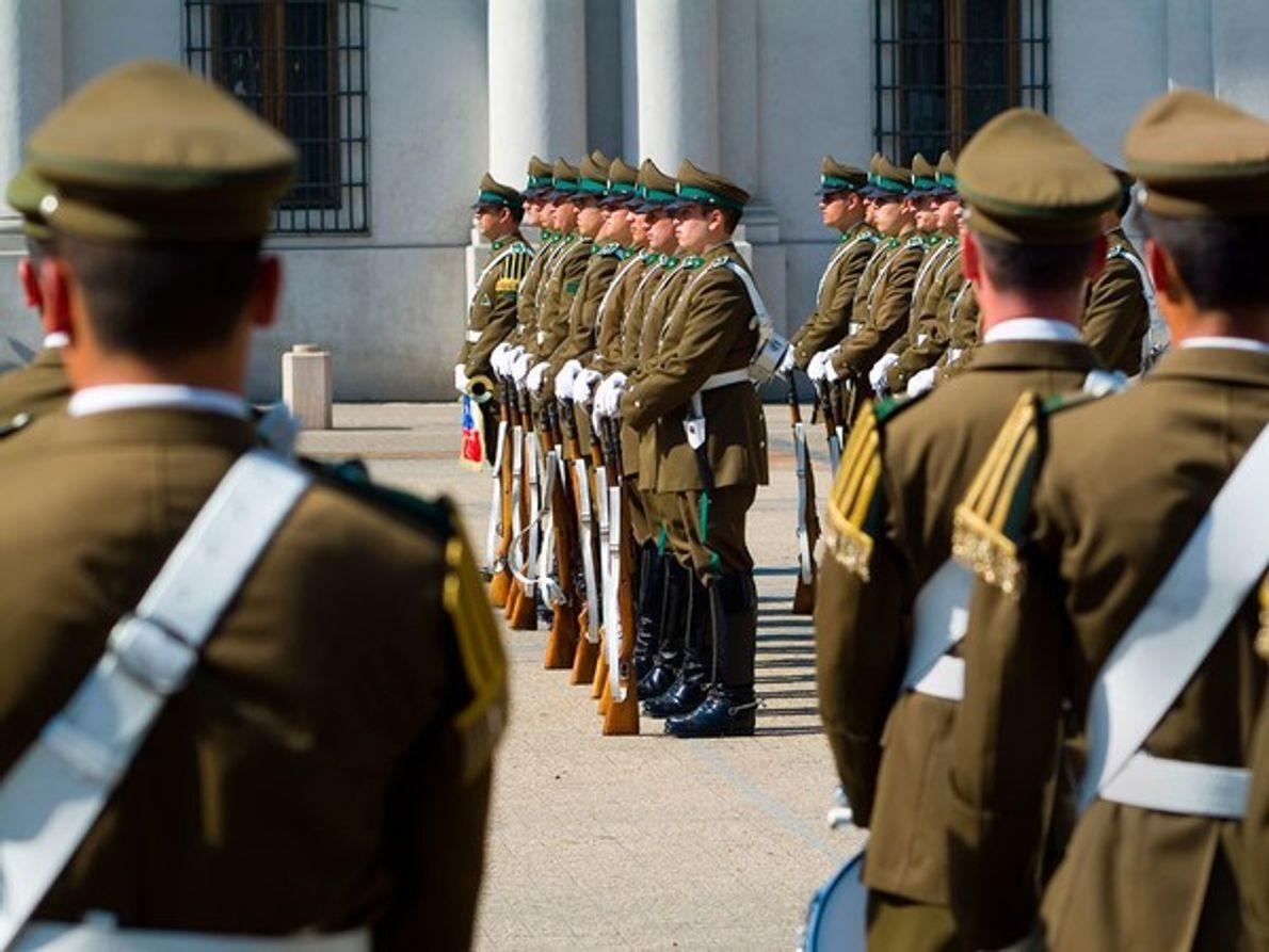 Palacio presidencial, Santiago