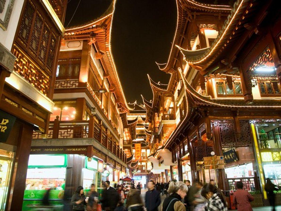Casas de té de Yu Yuan, Shanghái