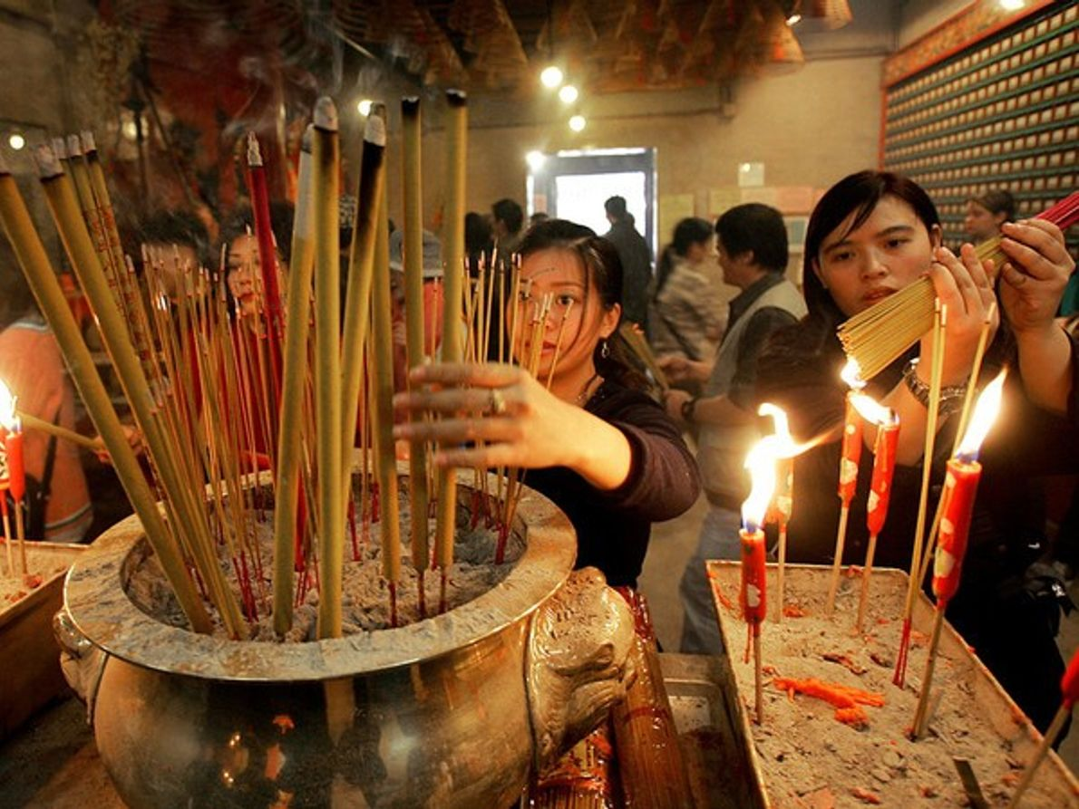 Año nuevo lunar, Hong Kong