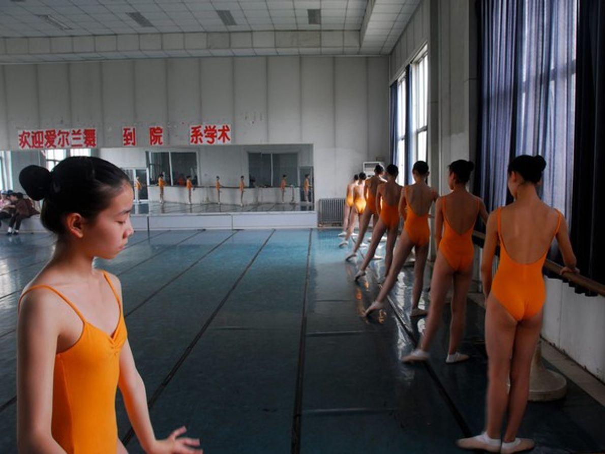 Escuela de ballet china