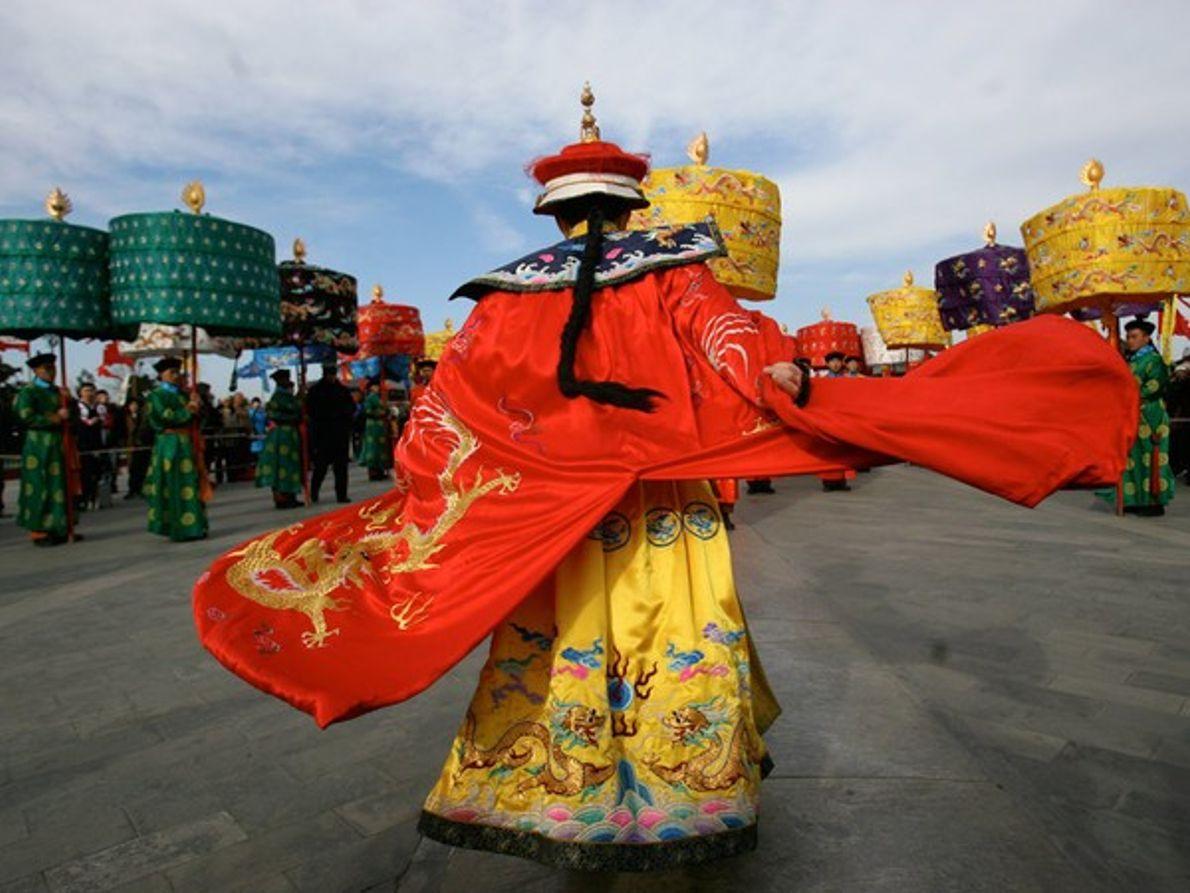 Templo de la Ceremonia del Cielo, Pekín