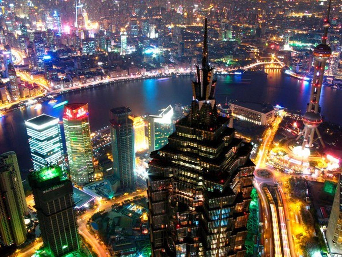 Vista de Shanghái