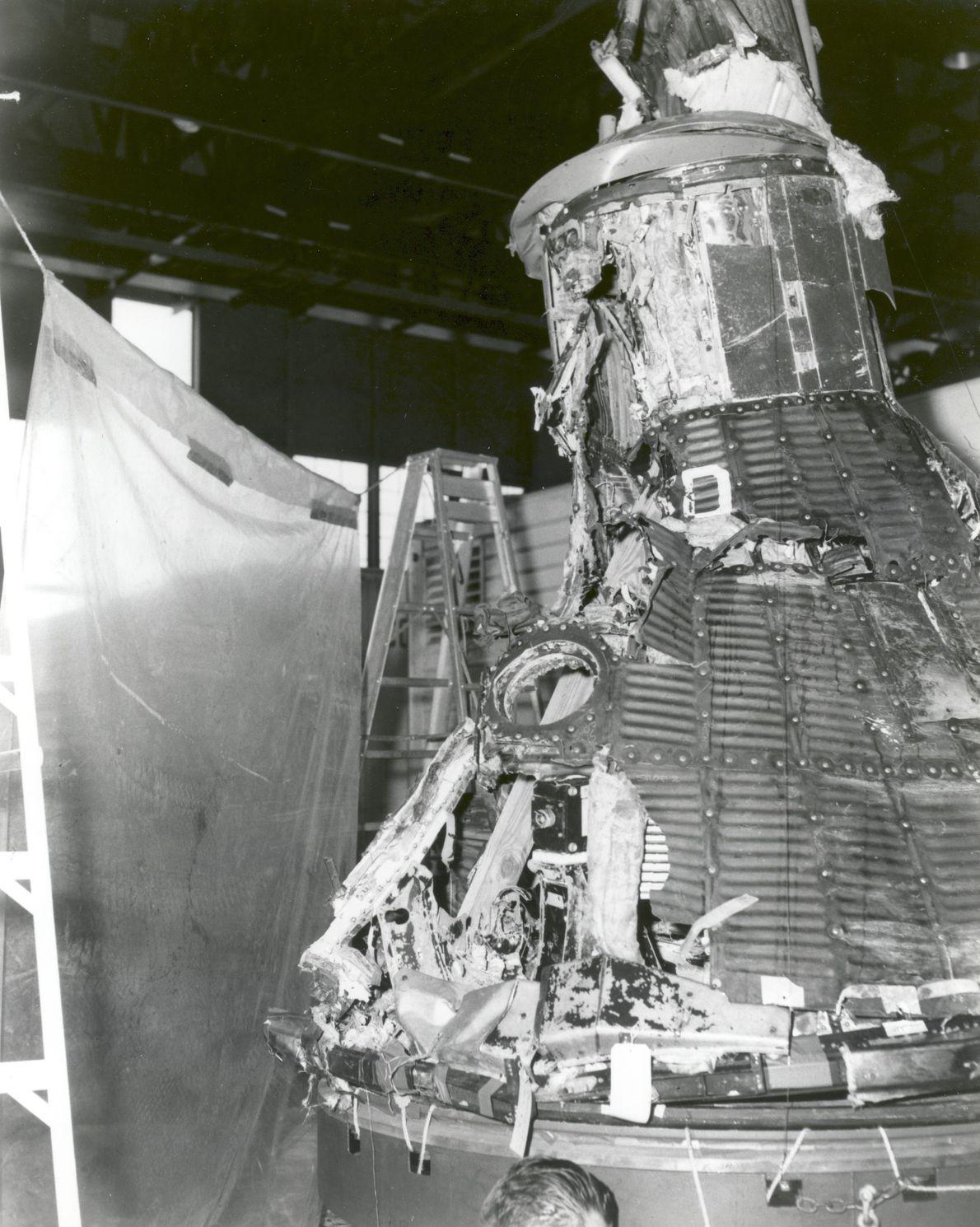 El primer vuelo del Programa Mercurio