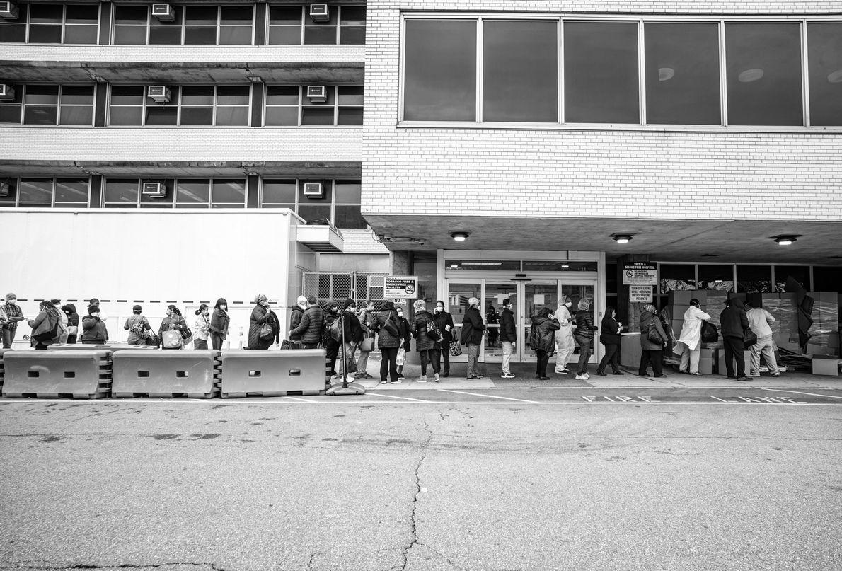 Trabajadores del Hospital de Coney Island