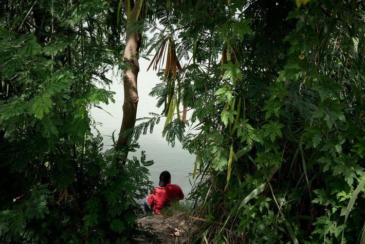 Un hombre en Río Grande