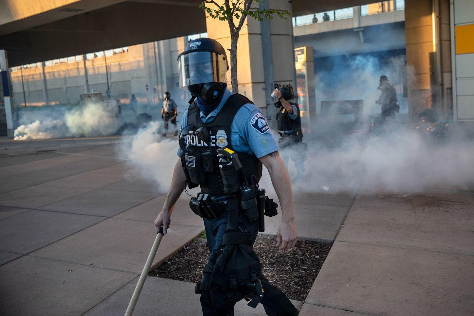 Agente de la policía de Minneapolis