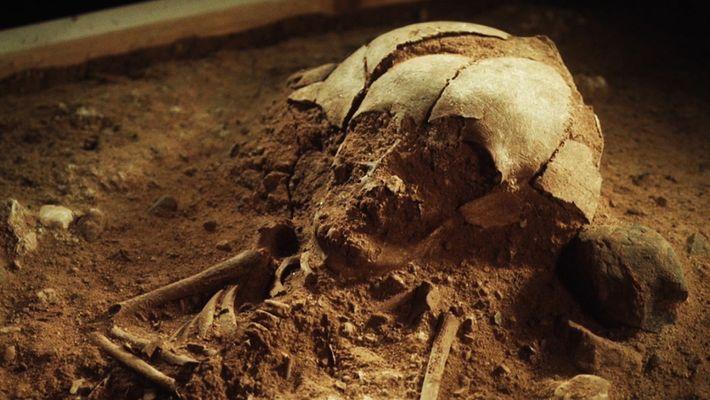 Encontrado en Alemania un esqueleto de un bebé con más de 8400 años de antiguedad