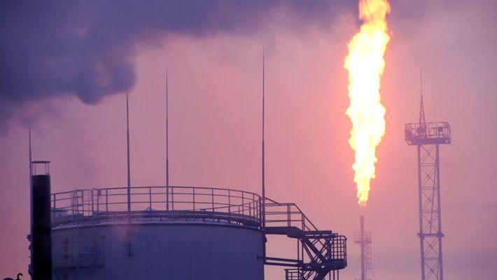 Imágenes impresionantes: Yacimientos de aceite y carbón en la cima del mundo