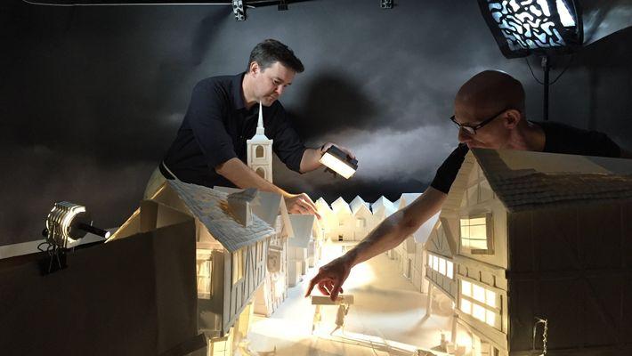Así se construye Londres con papel