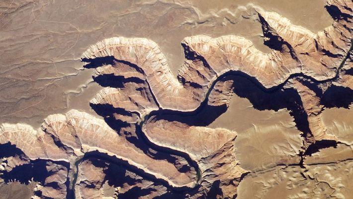 Así se ve el Gran Cañón desde el espacio
