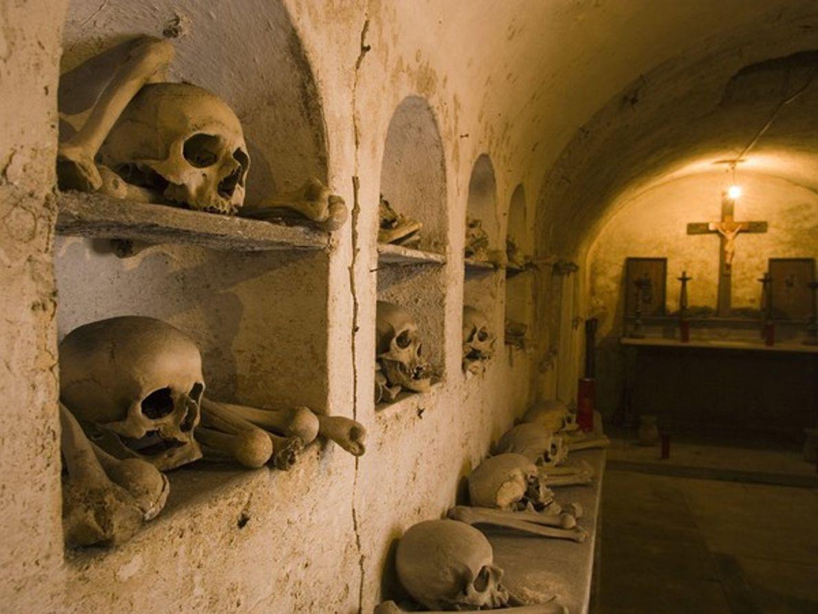 Huesos de cripta, Roma