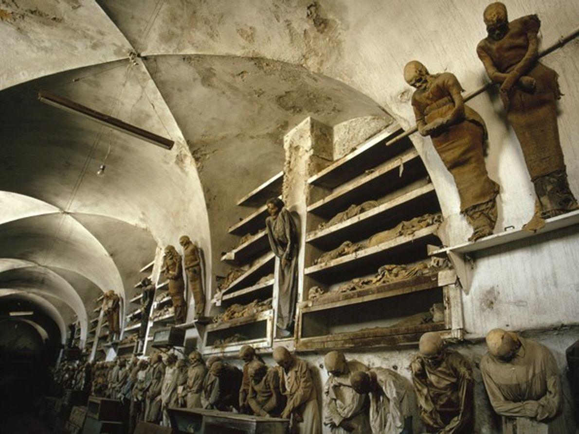 Catacumbas de los capuchinos, Italia