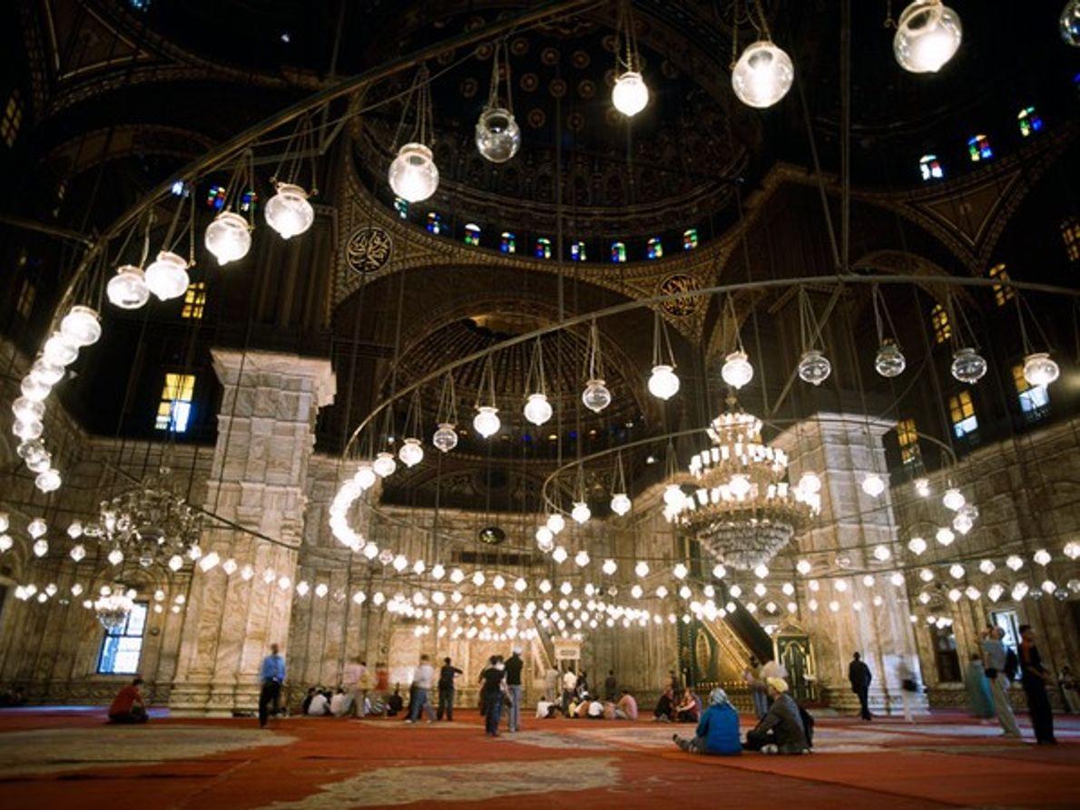 Mezquita Muhammad Ali, Ciudadela del Cairo