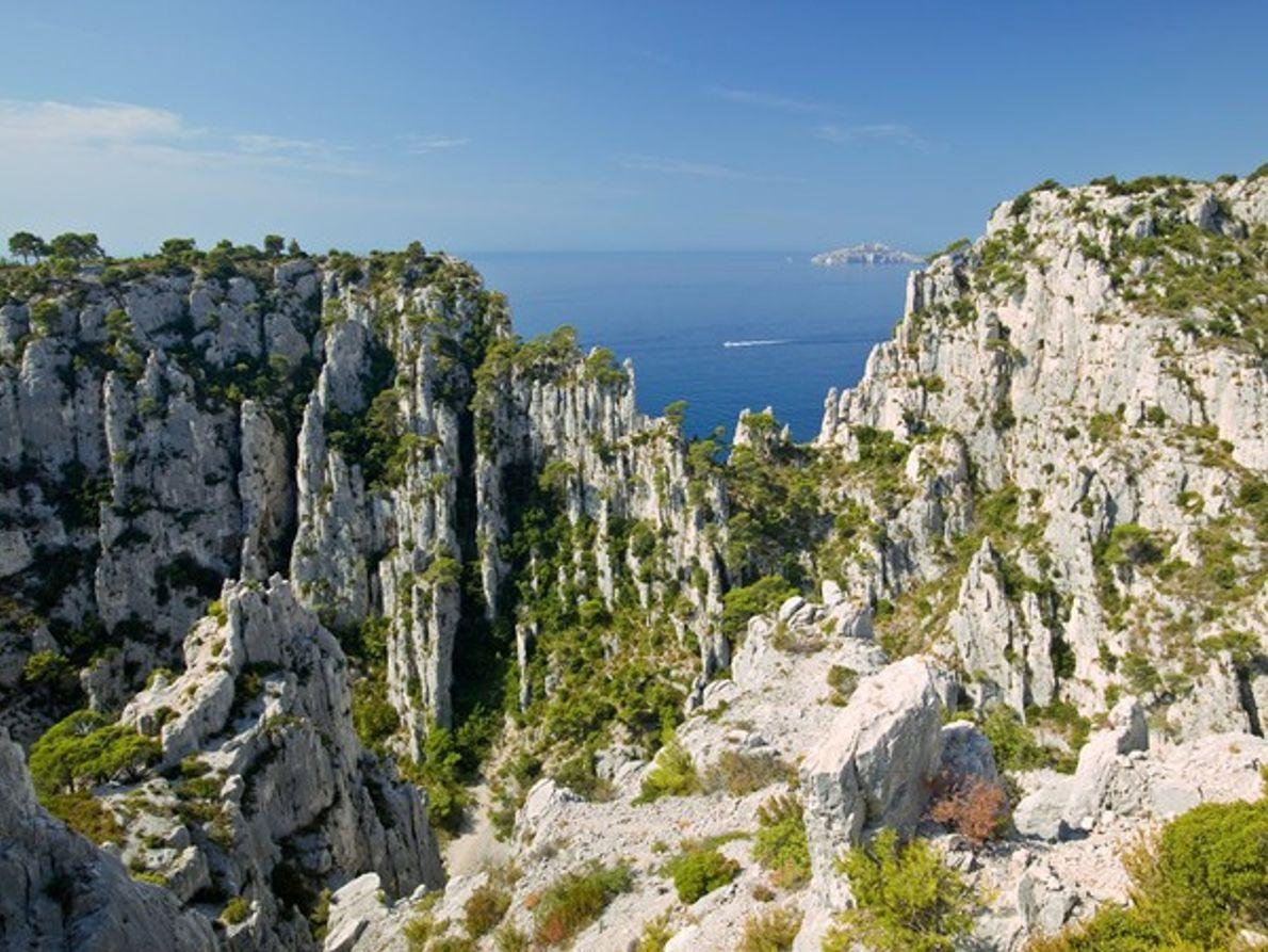Los acantilados de Cassis