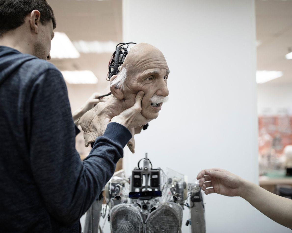 Robot de Einstein