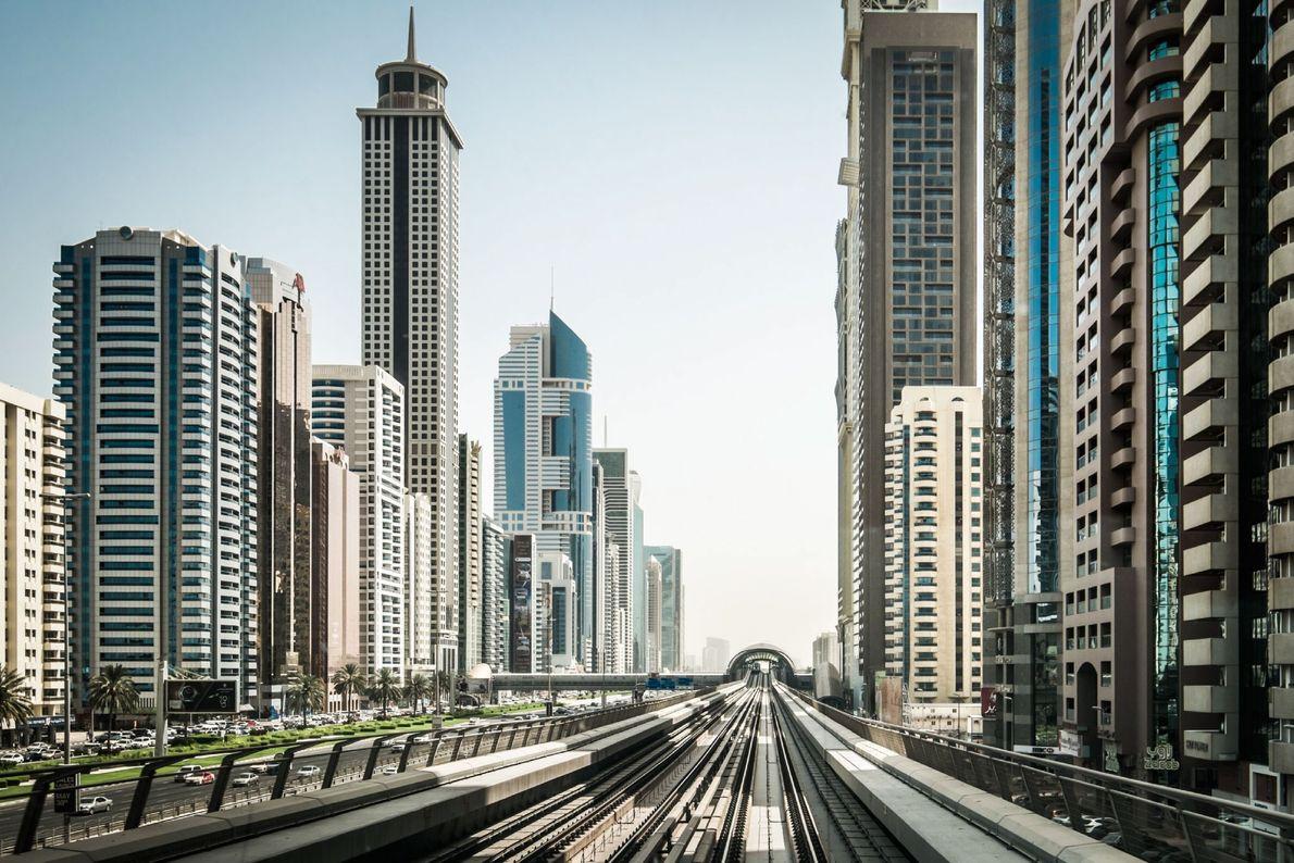 El tren de Dubai