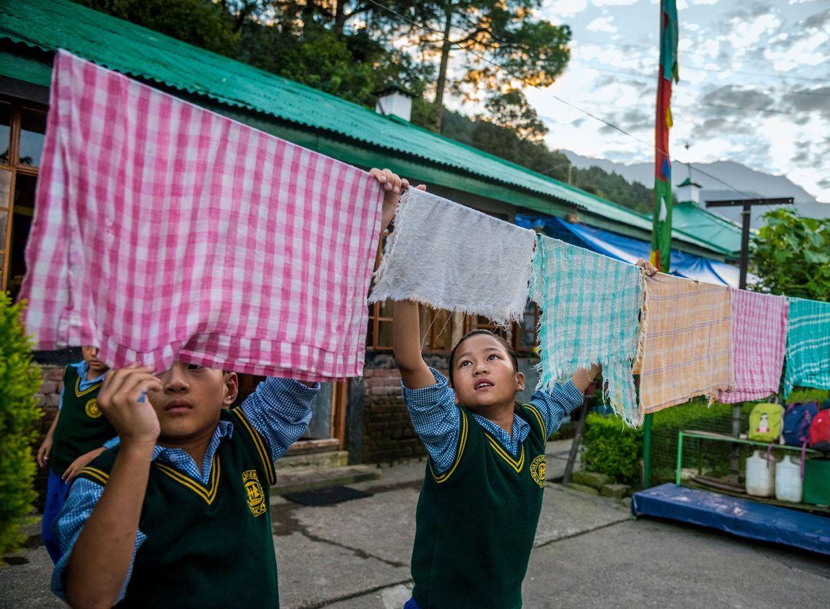 Aldea de Niños Tibetanos