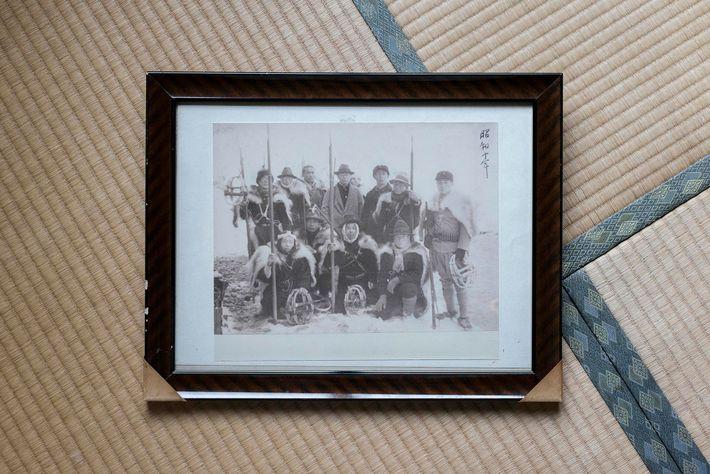 Foto de los matagi del siglo XX
