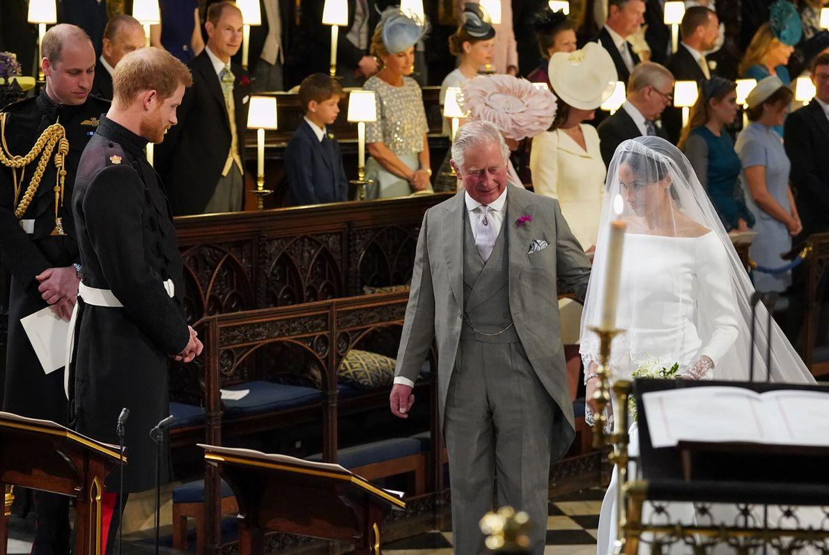 El príncipe Carlos y Meghan Markle