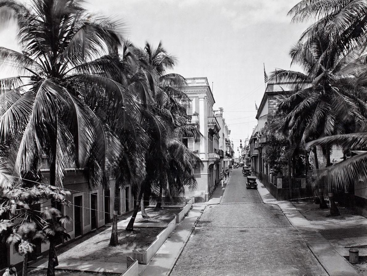 Una calle en el Viejo San Juan