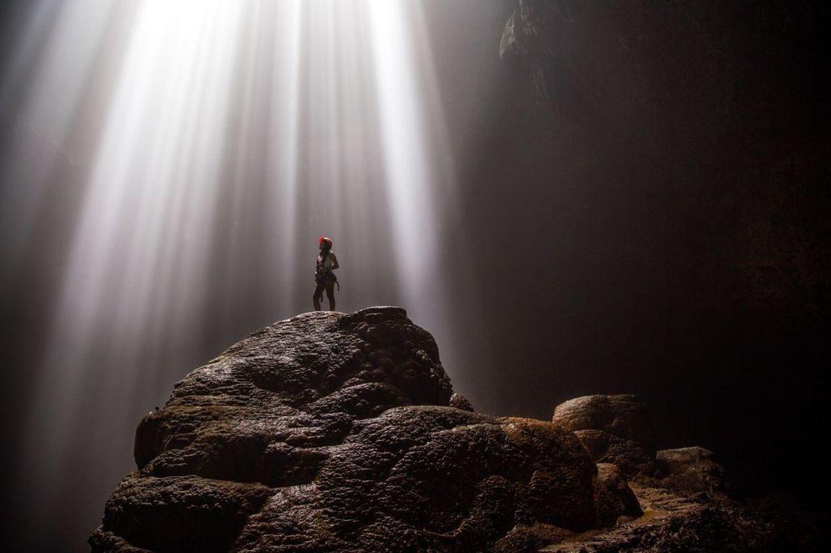 La cueva vertical de Jomblang