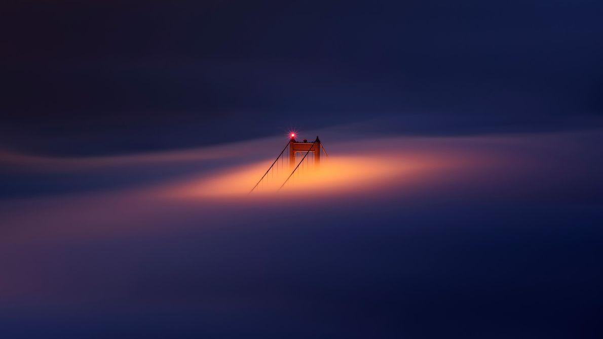 Imagen del Golden Gate en San Francisco.