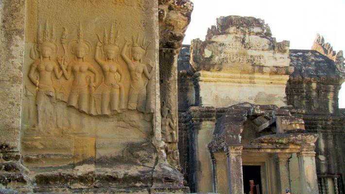 El agua construyó y destruyó el poderoso imperio de Angkor