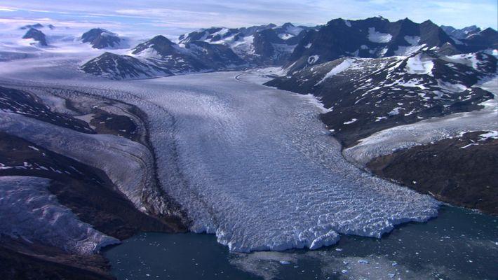 Groenlandia desde el cielo como nunca antes se ha visto