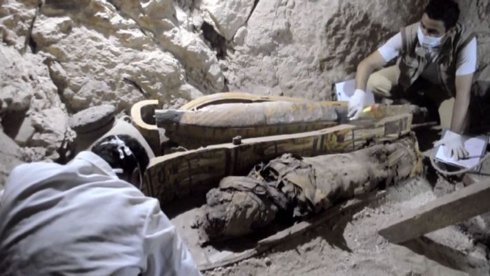 Descubierta una tumba egipcia de 3.500 años de antigüedad