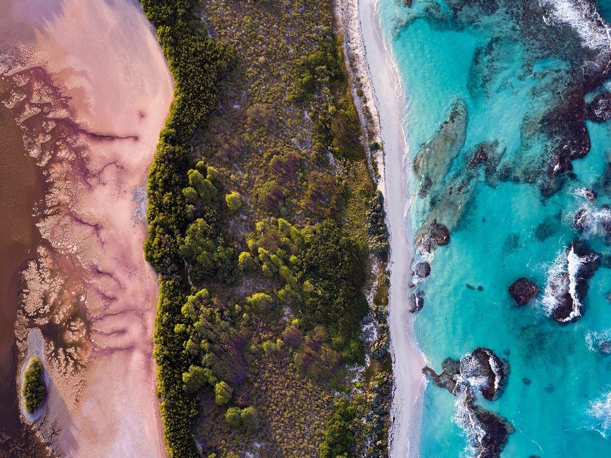 Imagen de las Islas de Petite Terre en Guadalupe