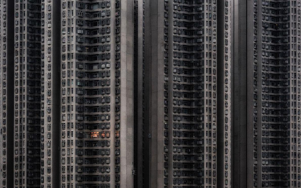 Imagen de un complejo de apartamentos en Hong-Kong