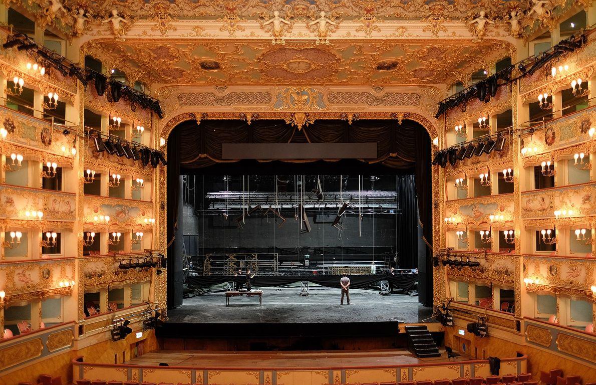 Imagen del Teatro Le Fenice en Italy