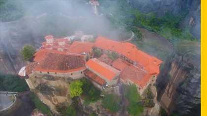 Descubre la región griega de Meteora y sus increíbles monasterios en las alturas