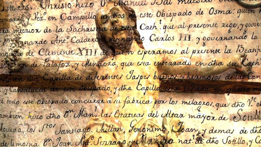 La cápsula del tiempo descubierta en la iglesia de una localidad burgalesa