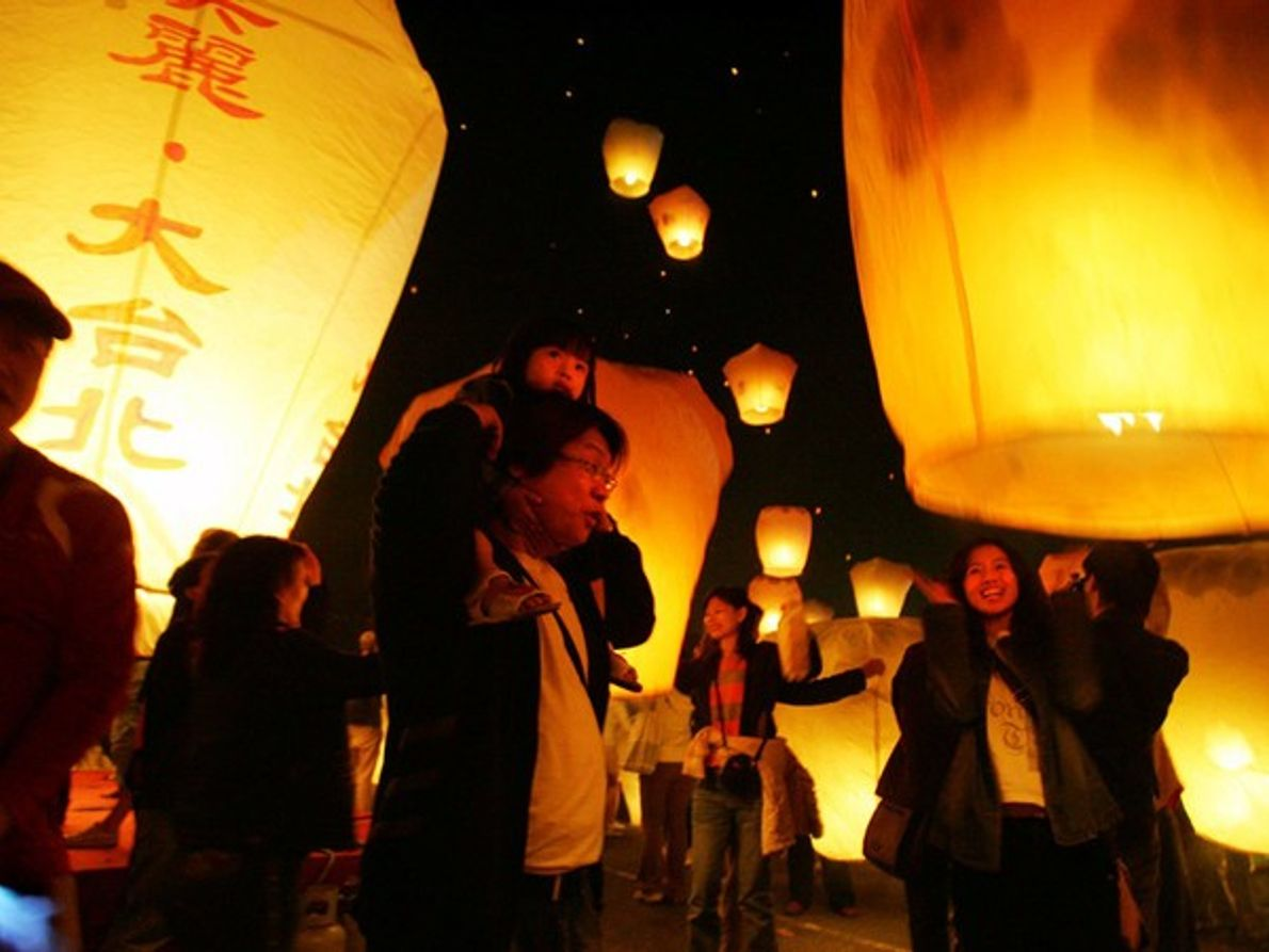 Festival de los Faroles, Taiwán