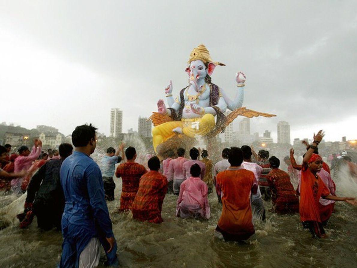 Festival de Ganesh, India