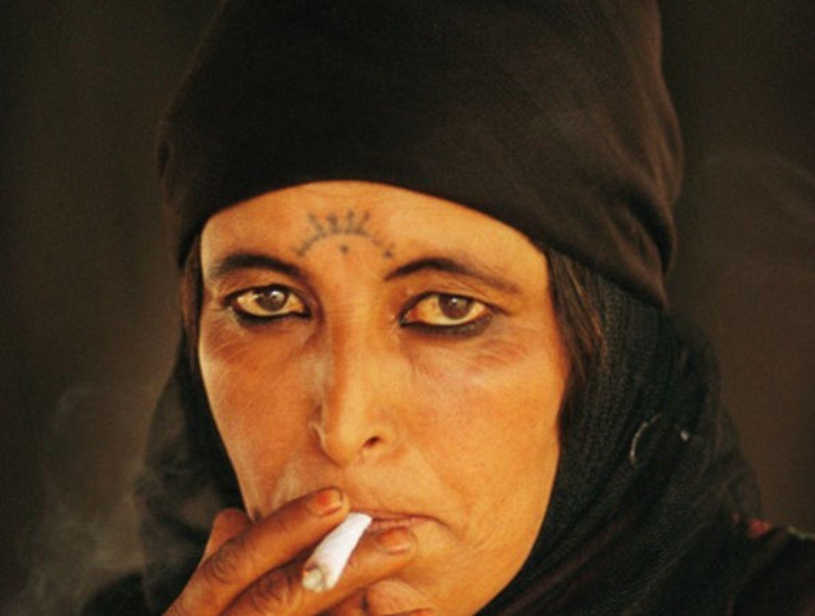 La mujer beduina