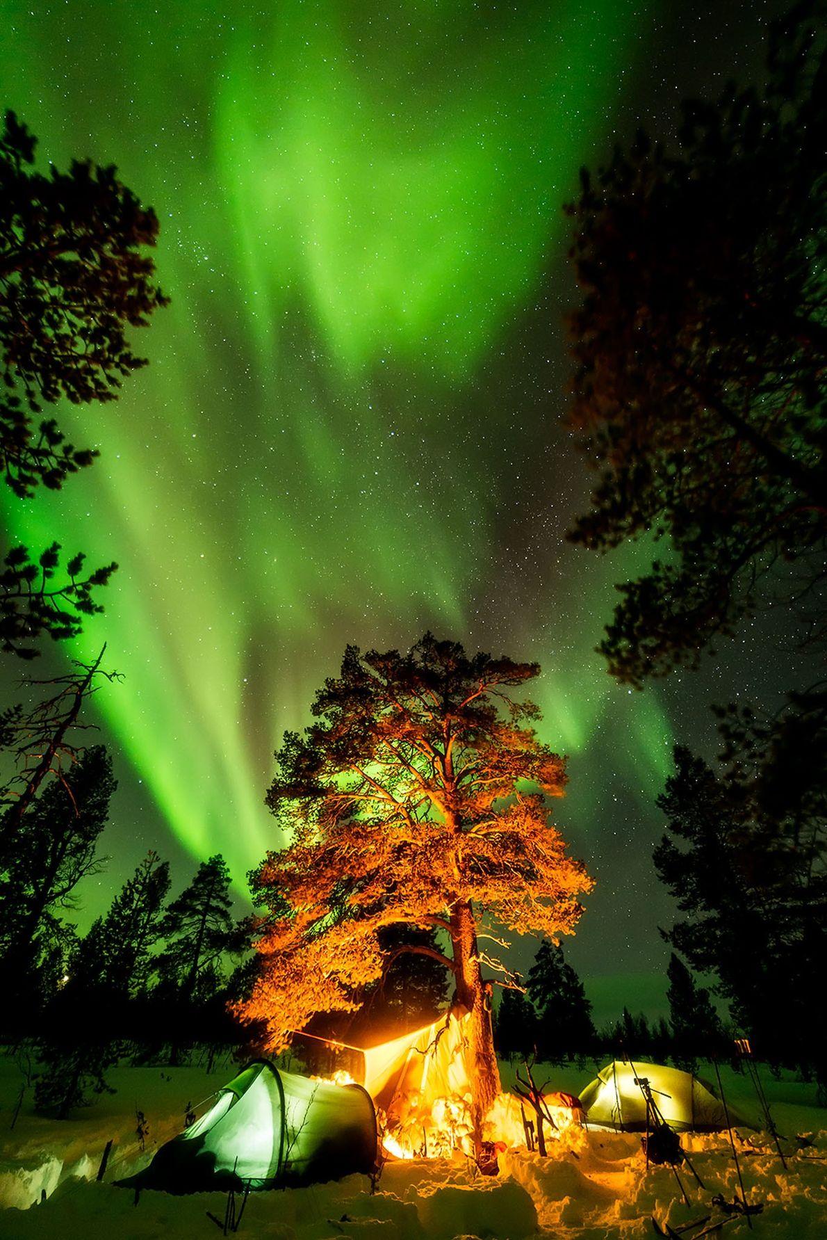 Parque nacional de Lemmenjoki, Laponia, Finlandia