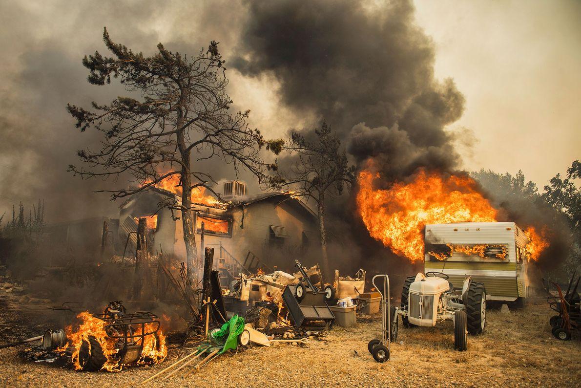 El incendio de Erskine