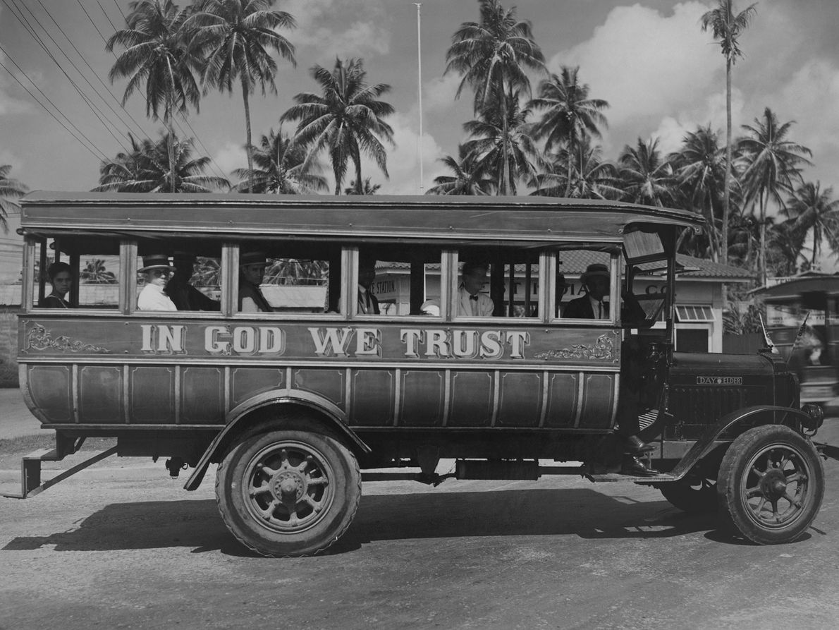 Un autobús en San Juan